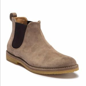 Mens Vince Sawyer Suede Chelsea Boot